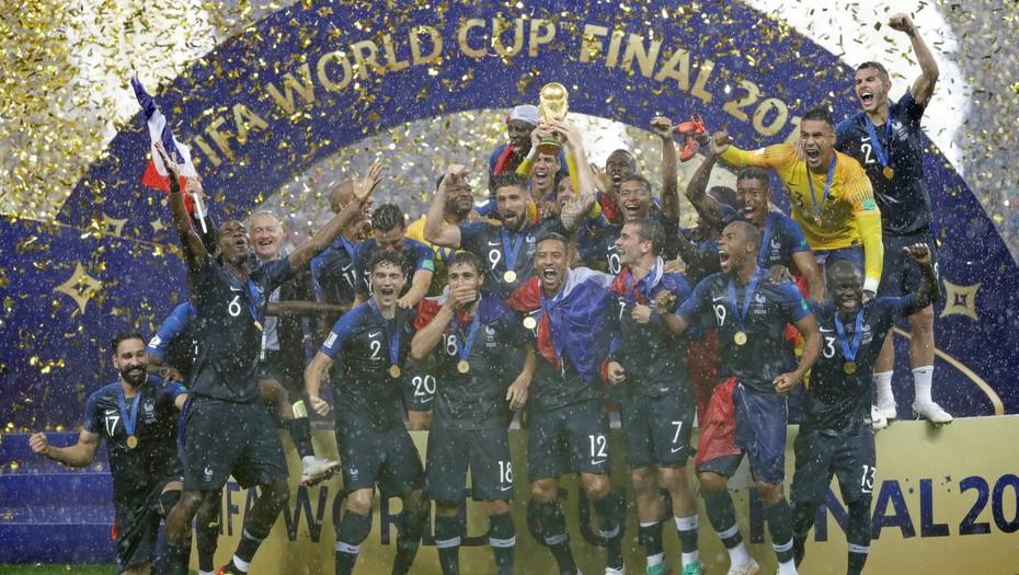 Francia, ganador de la Copa Mundial de Rusia 2018